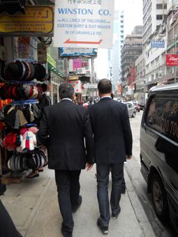Gianfranco Librandi e Massimo Librandi a Honk Kong