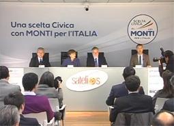 Andrea Riccardi mio ospite con gli altri candidati lombardi per la Lista Monti