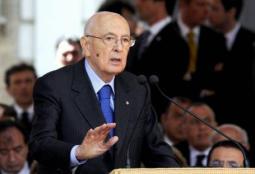 22 aprile 2013, giuramento Presidente della Repubblica.