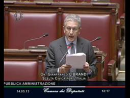 Il mio intervento alla Camera dei Deputati