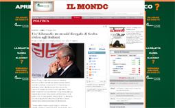 Ue/ Librandi: 10-12 mld il regalo di Scelta civica agli italiani