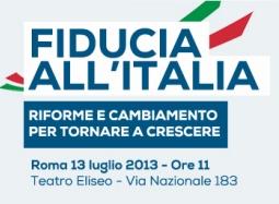 Librandi (SC): «Convention di SC? Nasce il partito della fiducia. Fiducia all'Italia che ha fiducia in noi. Cresce il nostro consenso»