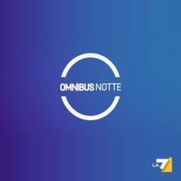 Martedì 14 gennaio 2014 a Omnibus Notte su LA7