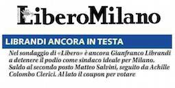 """Milano: Librandi, """"Sempre più determinato a correre come sindaco. Me lo chiede la società civile""""."""