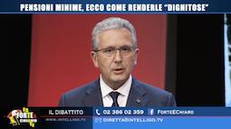 Intervista tv: pensioni e spending review, aumentiamo le minime a 800 euro