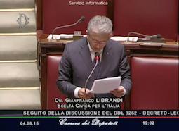 Enti Locali – Dichiarazione di voto sul decreto enti territoriali