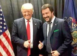 Lega: Librandi (Sc), figuraccia Salvini, imbucato da Trump