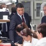 Foto: Presidente Matteo Renzi in visita alla mia azienda TCI