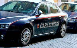 14824821 - transport paramilitary italian police (carabinieri) in rome