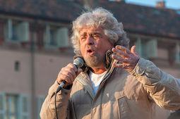30815141 - beppe grillo, italian politician and blogger